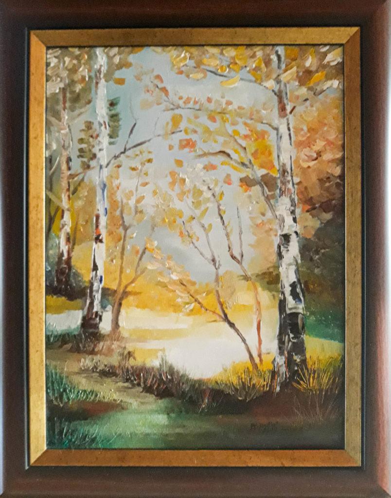 Jesienny widok Małgorzata Siadlak