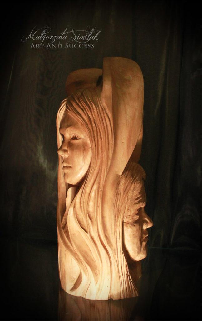 Przemijanie Rzeźba