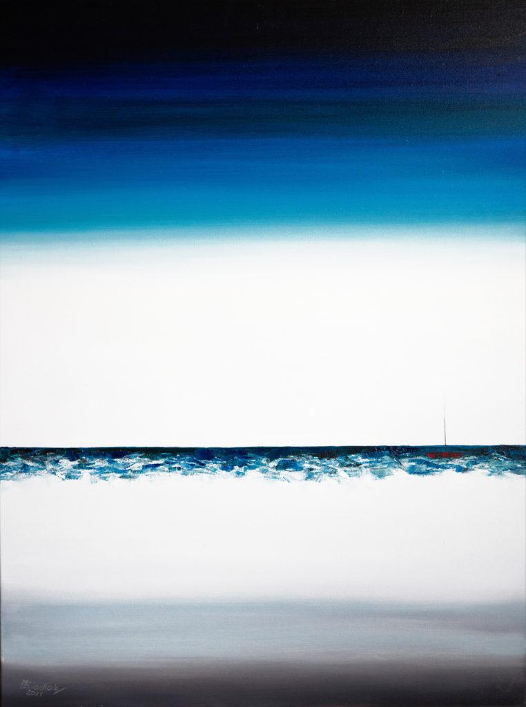 Lost at the sea - Malarstwo Siadlak