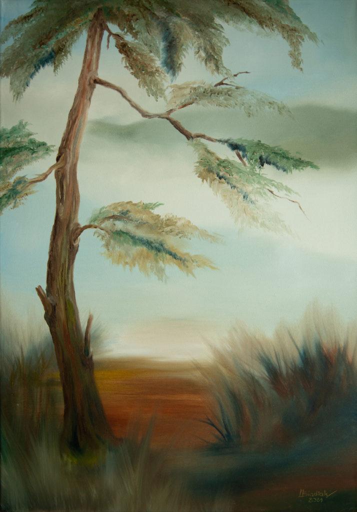 oil on canvas Siadlak